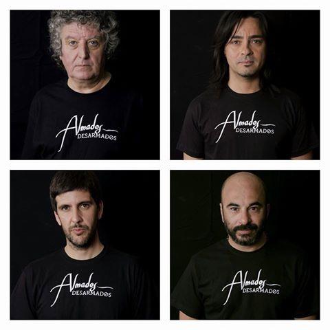 """""""Almados/desarmados"""". Antonio Meco, José Raul Ramírez, Salvador Samper y Txus Leal"""