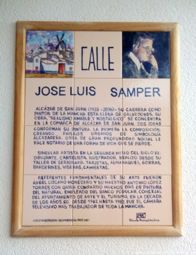 Calle José Luis Samper