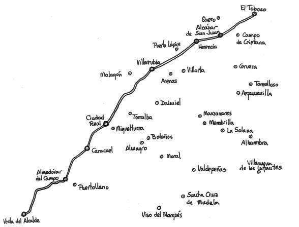 Ruta de Sancho Panza
