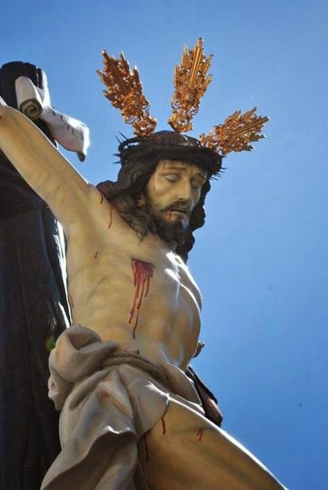 Imagen del Cristo de los Afligidos de Herencia