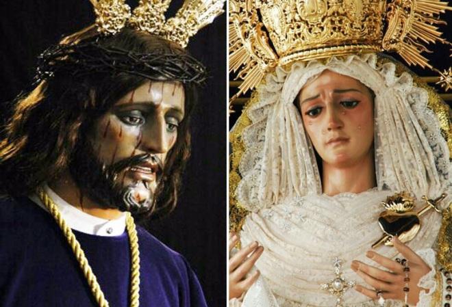 Jesús Nazareno y Virgen de la Amargura de Herencia