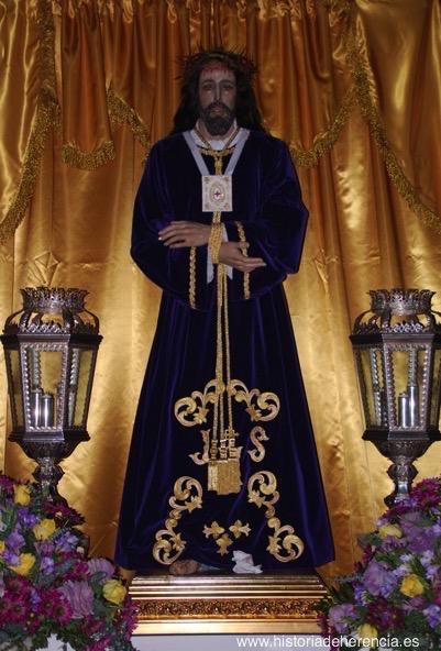 Nueva imagen de Jesús de Medinaceli de Herencia