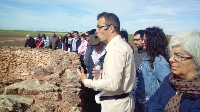 Visita del Taller de Historia a la Motilla del Azuer