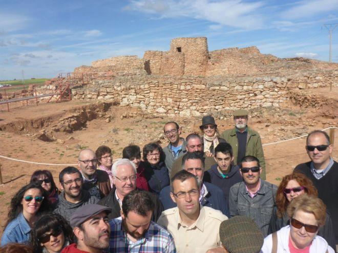 Visita del Taller de Historia Local a la Motilla del Azuer