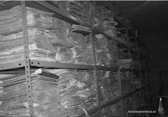 Antiguo depósito de documentación municipal de Herencia. Fotografía de Sagrario Téllez Labrador