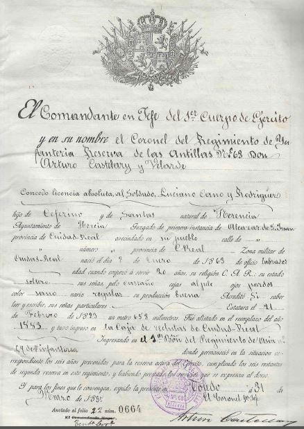 Licencia de Luciano