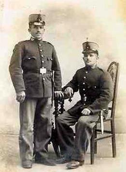 Soldados españoles, en época de Alfonso XII