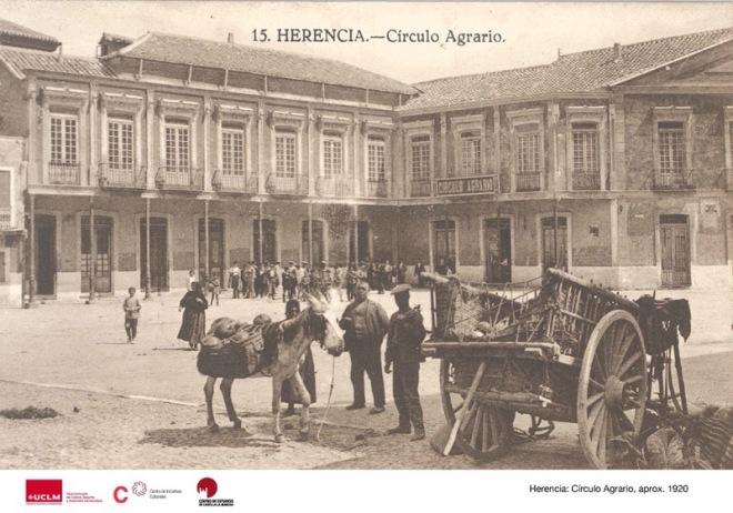 Círculo Agrario de Herencia hacia 1920-30